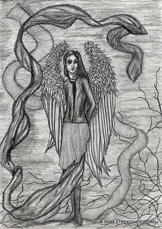 Секс рисунки демонов простым карандашом 6 фотография