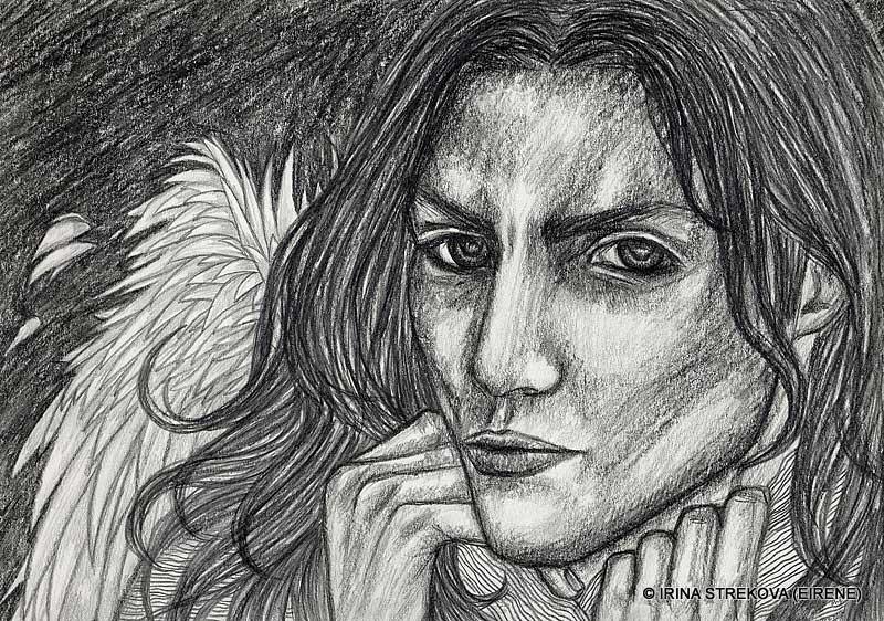 Секс рисунки демонов простым карандашом 11 фотография